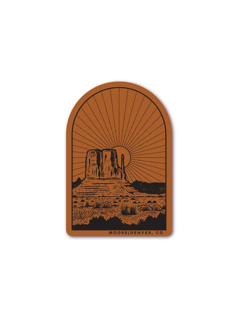 Monument Sticker