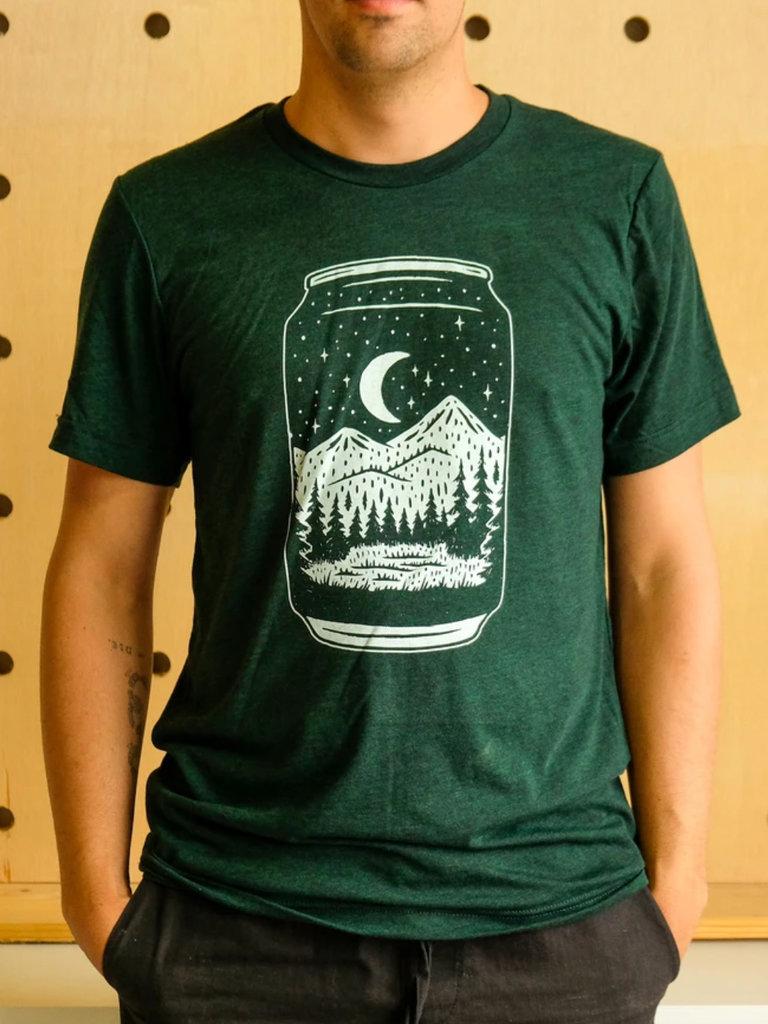 Emerald Beer Can Tee