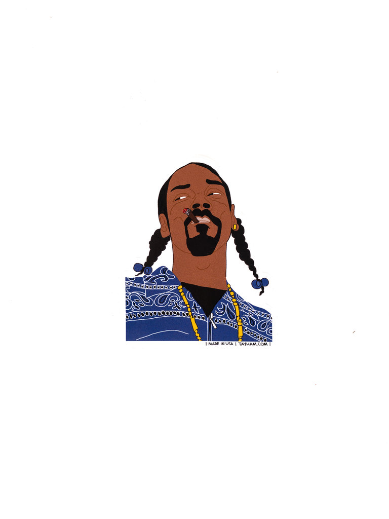 Snoop Dogg Sticker