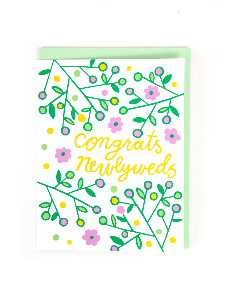 Congrats Newlyweds Card