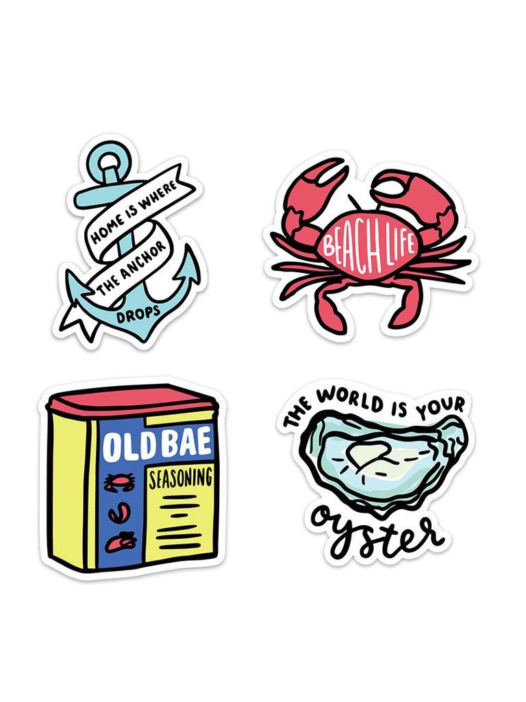 Under The Sea Sticker Pack