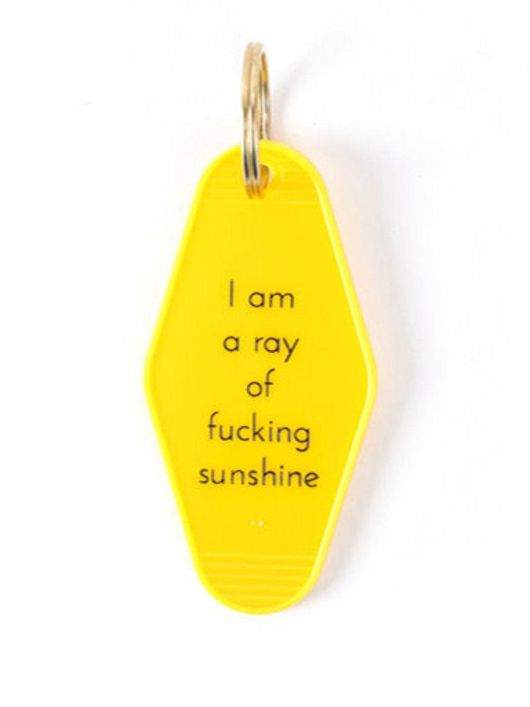 Ray Of Sunshine Key Tag