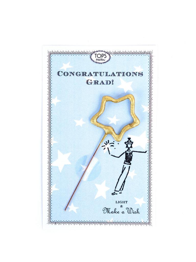 Sparkler Graduation Card