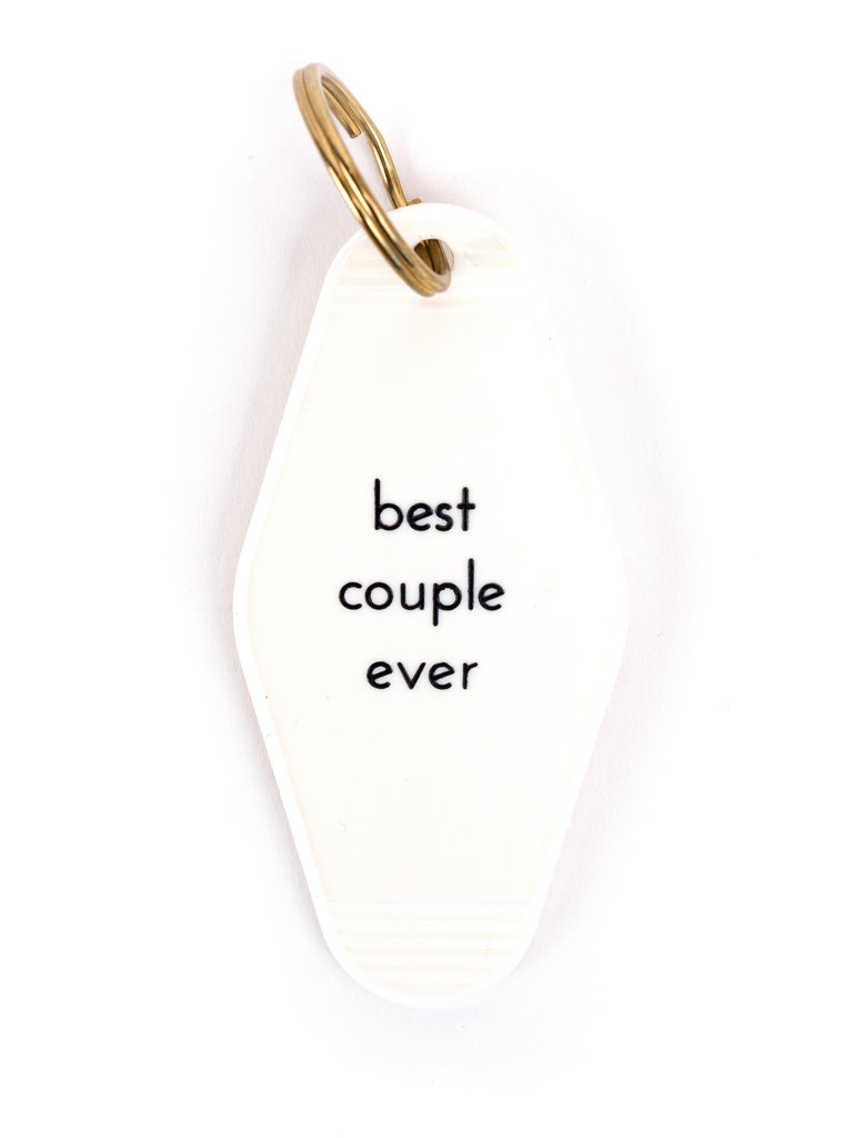 Best Couple Ever Key Tag