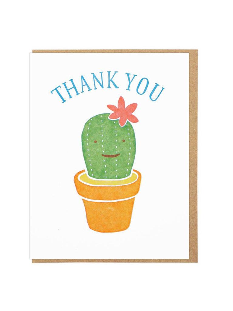 Thank You Cactus Card
