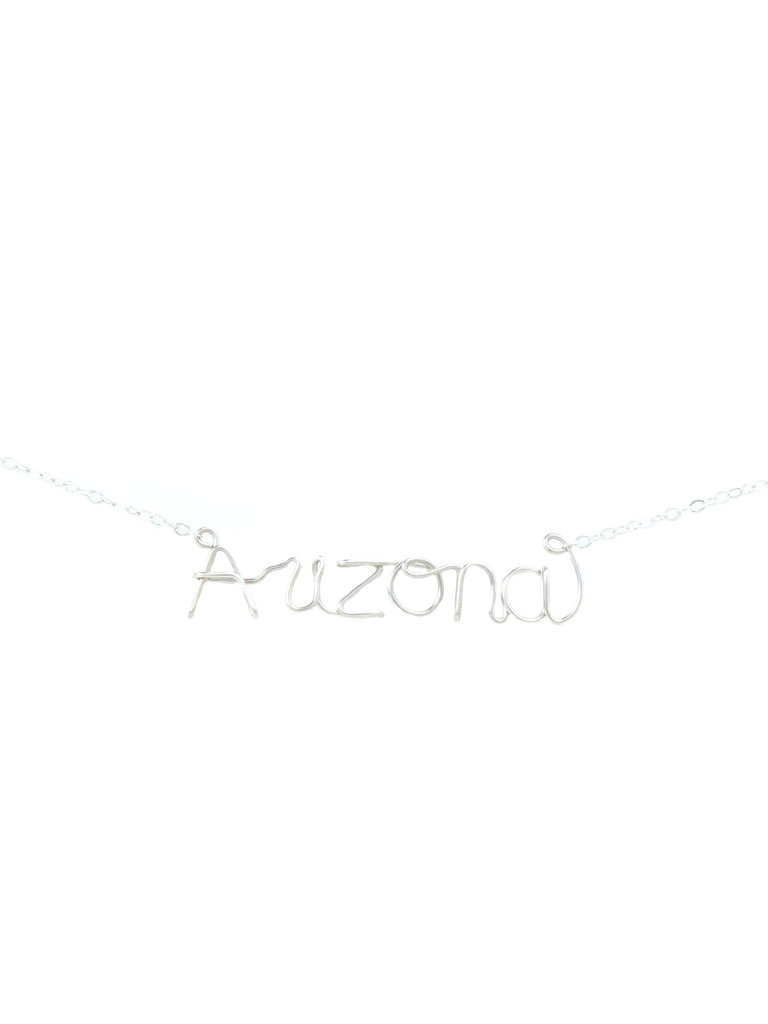 Arizona Word Necklace