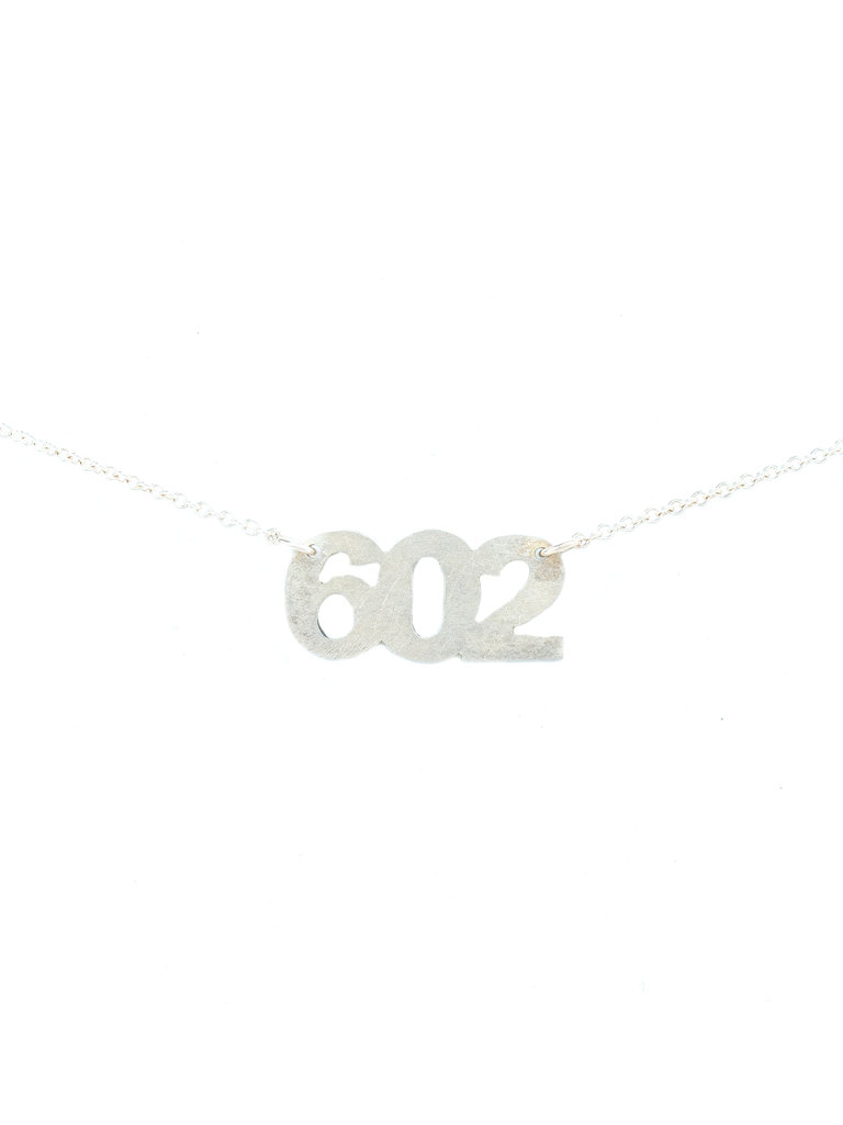 602 Necklace Silver