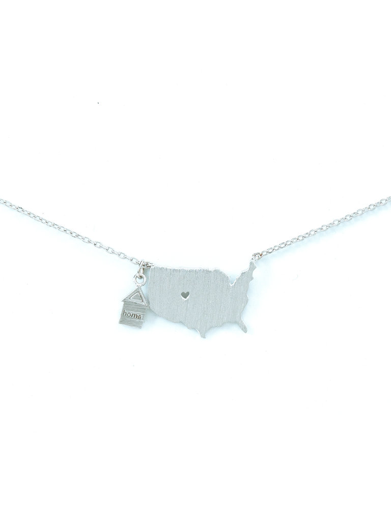 United States Silver Necklace