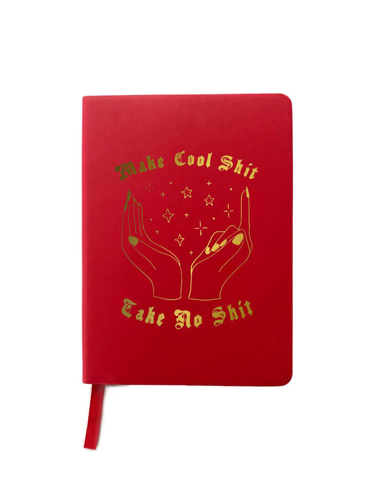 Make Cool Sh*t Journal Red