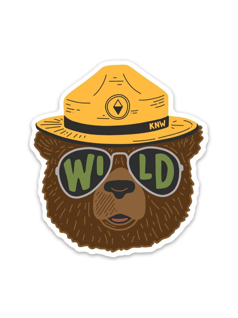 Wild Bear Sticker