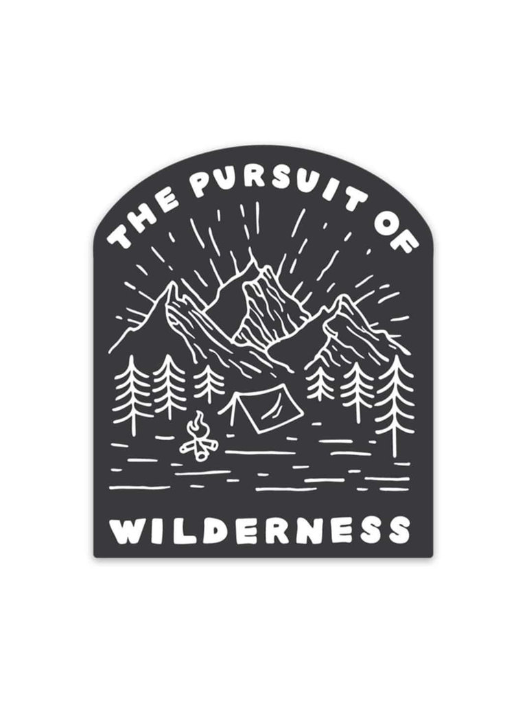 Pursuit of Wilderness Sticker