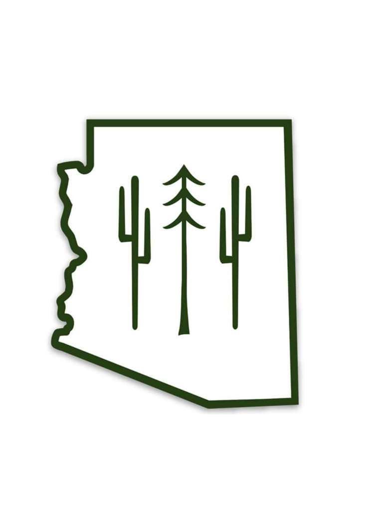 Arizona Wilderness Sticker