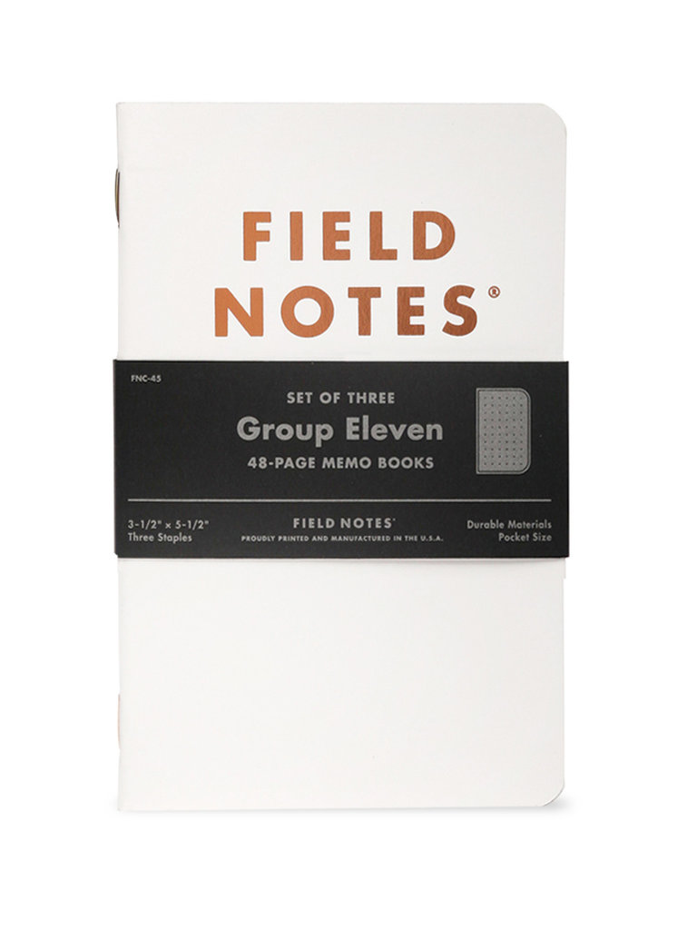 Group Eleven Notebook 3-Pack