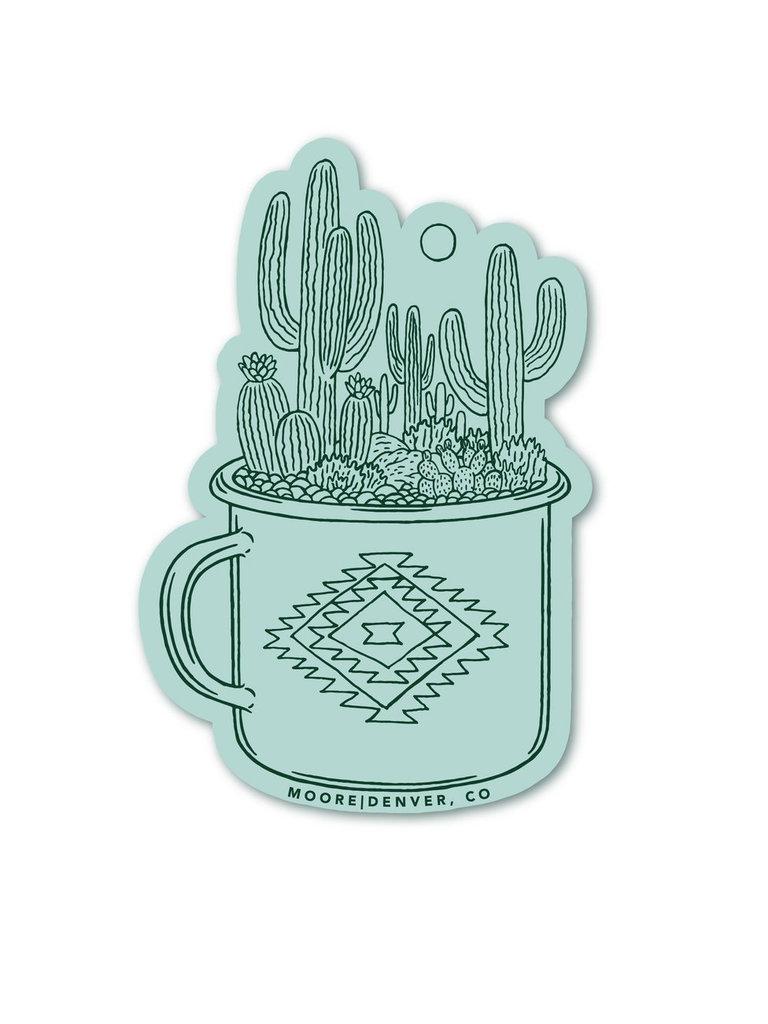 Cactus Cup Sticker
