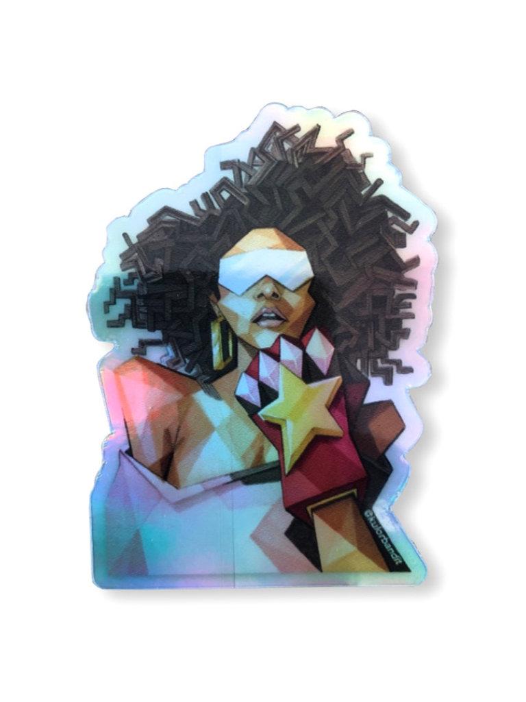 Empowered Sticker