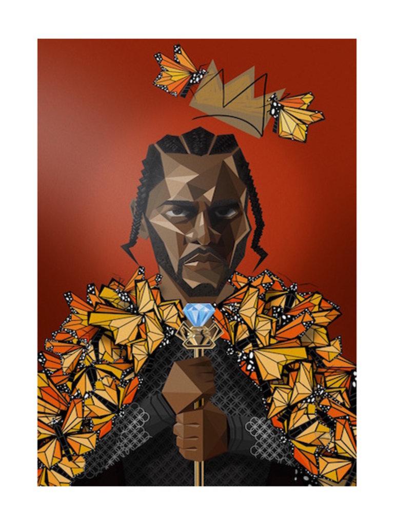 Kendrick Tribute Print