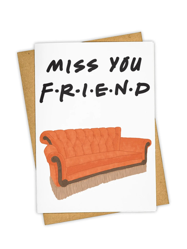 Friends Couch Card