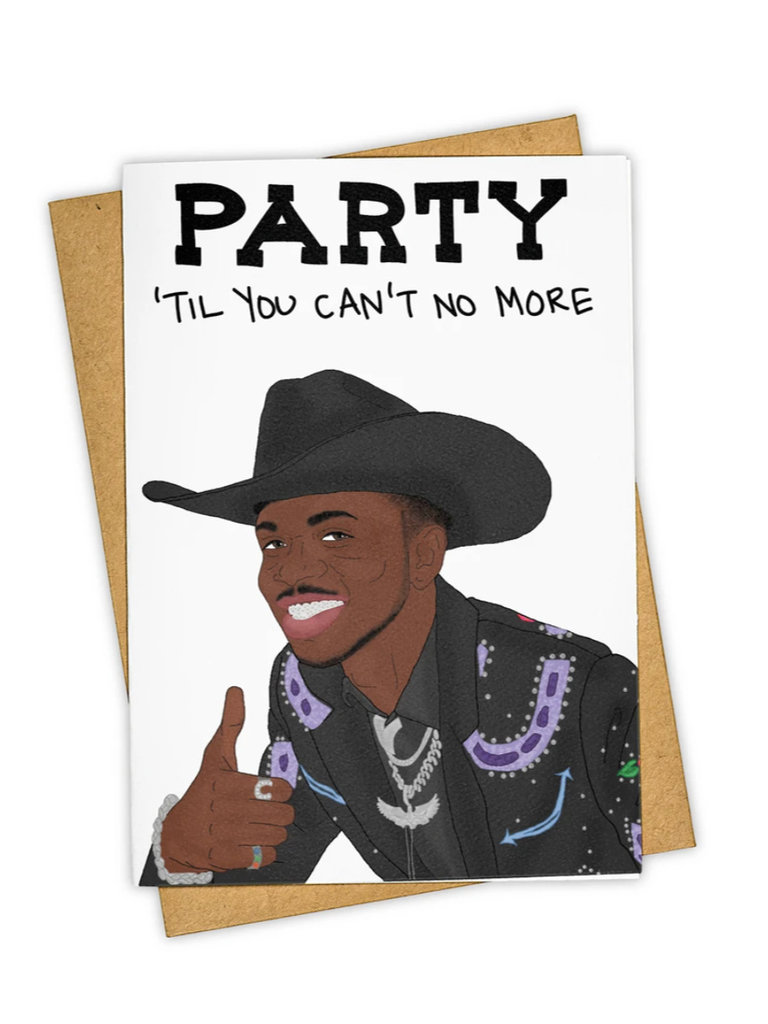 Party 'Til You Can't Card