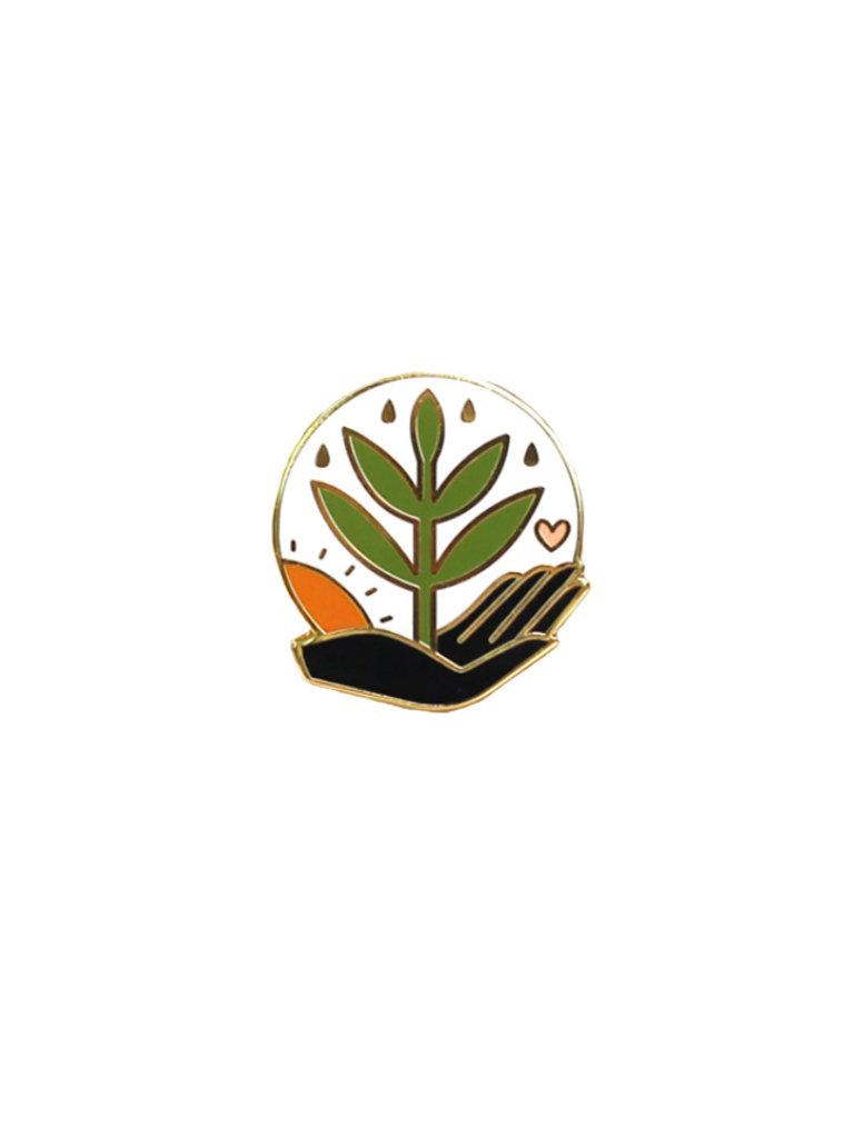Grow Lapel Pin
