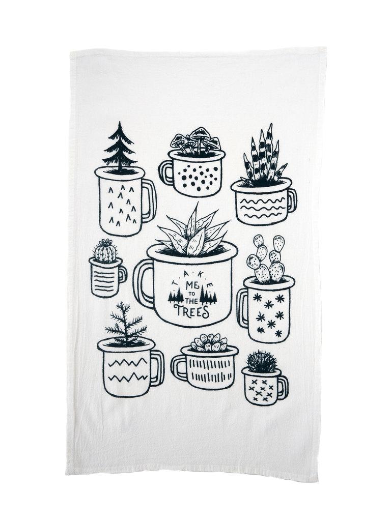 Planter Tea Towel