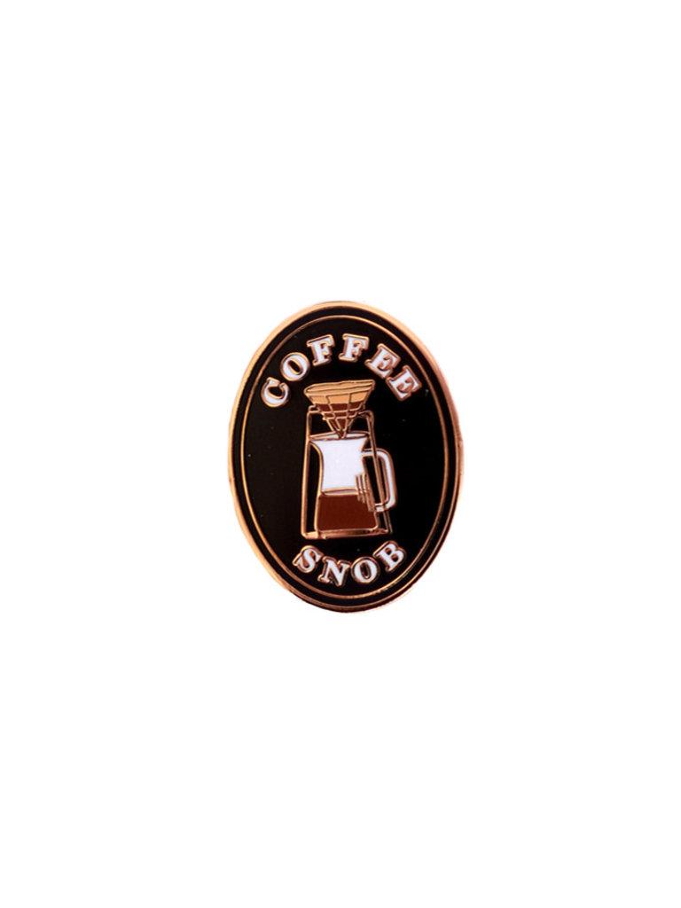 Coffee Snob Lapel Pin