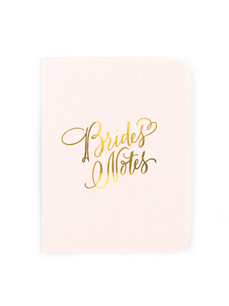 Brides Notes Notebook