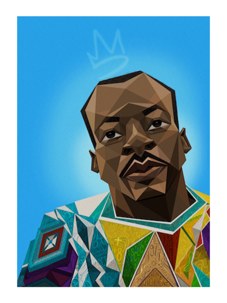 Notorious King Print