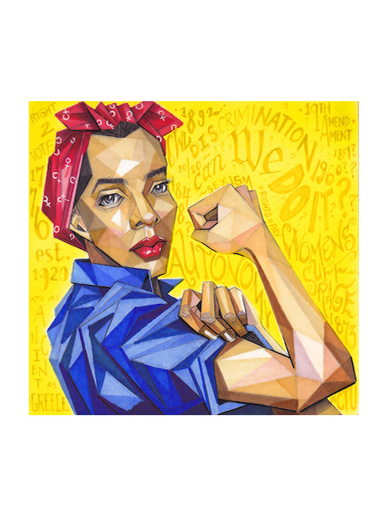 Rosie The Riveter Print