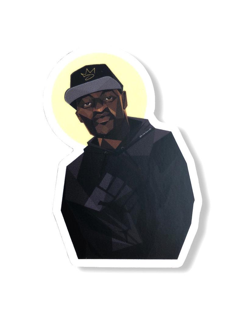 George Floyd Sticker