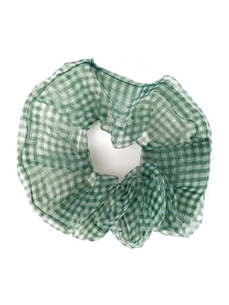 Chiffon Scrunchie, Green