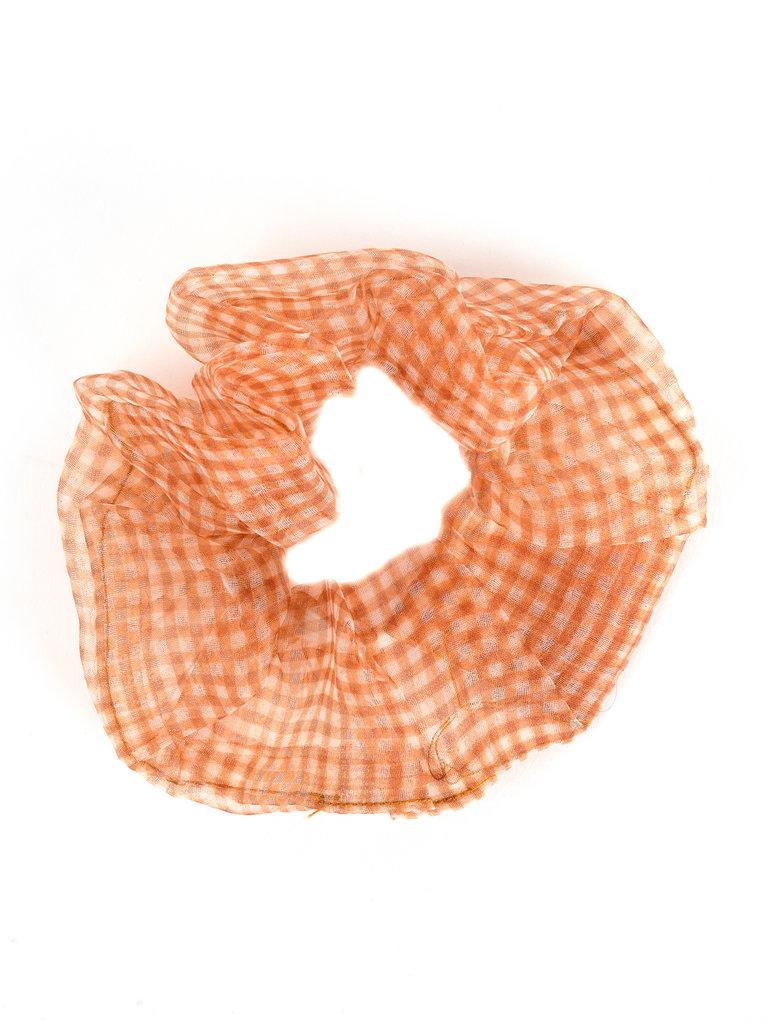 Chiffon Scrunchie, Orange