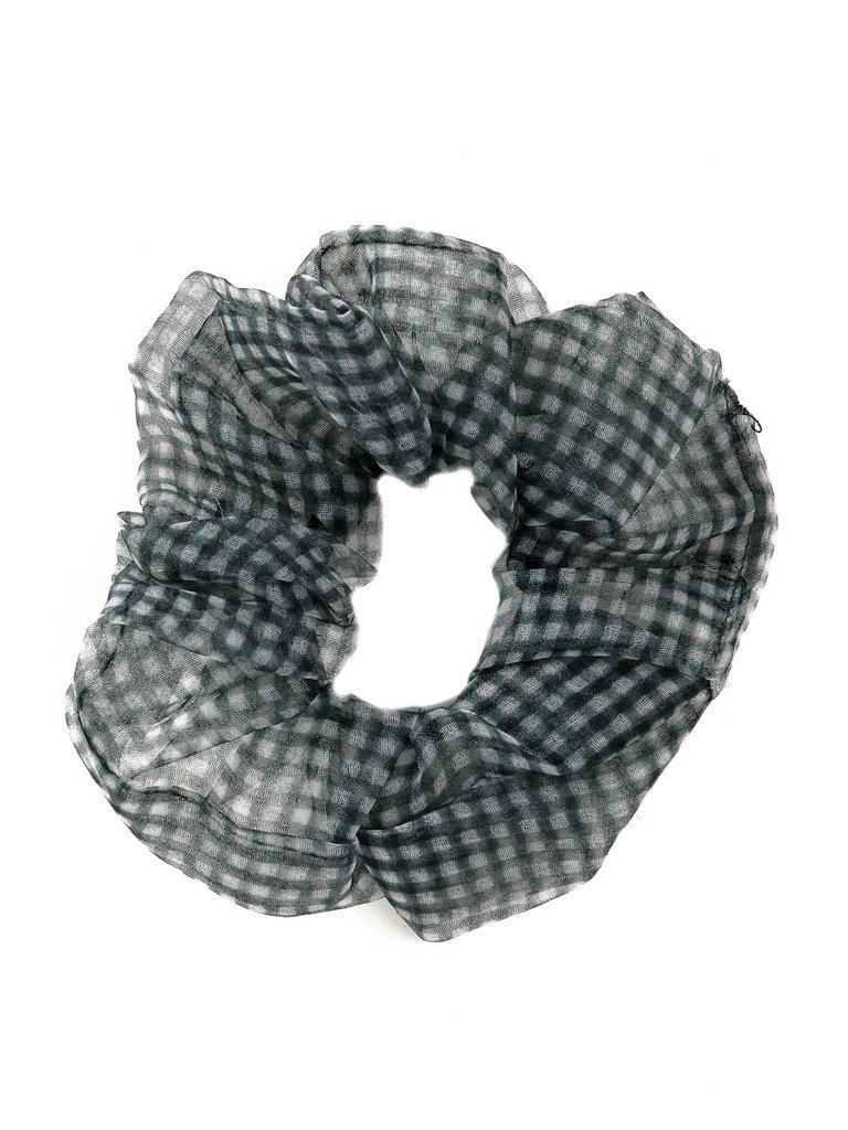 Chiffon Scrunchie, Black