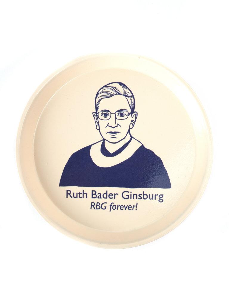 Ruth Bader Ginsburg Tray