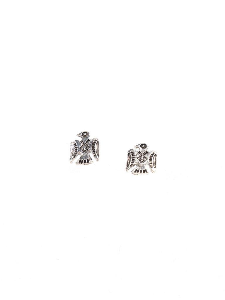 Silver Thunderbird Earrings