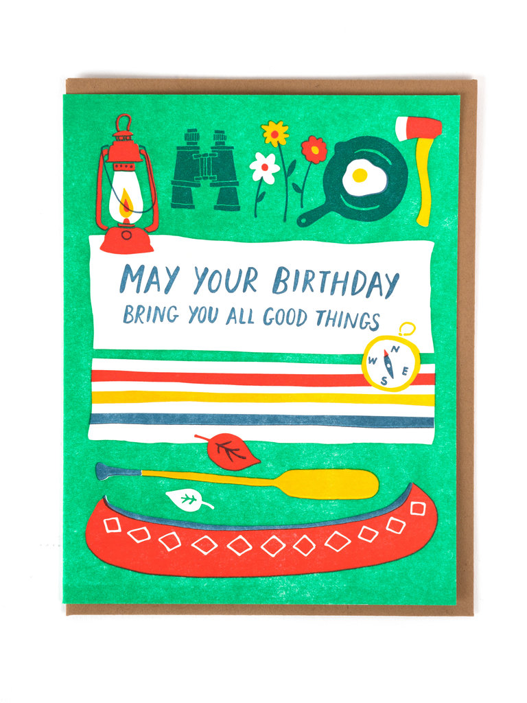 All Good Things Birthday Card