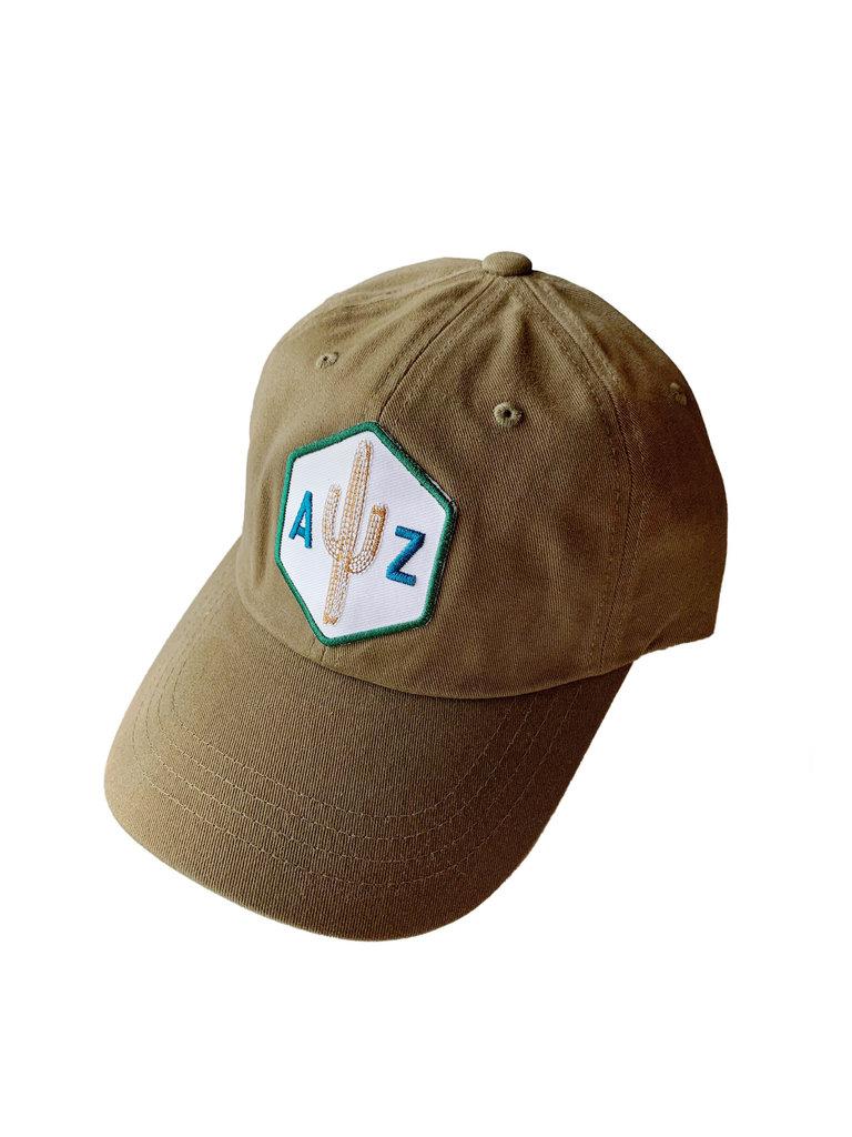 Black AZ Saguaro Scout Loden Dad Hat