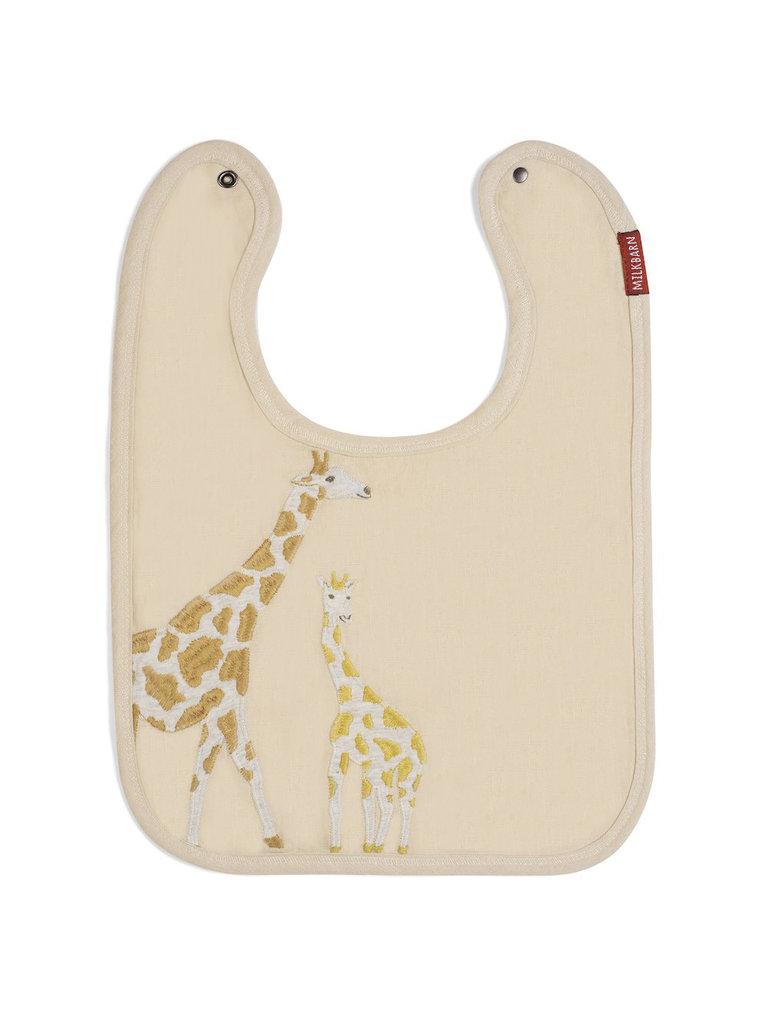 Giraffe Applique Bib