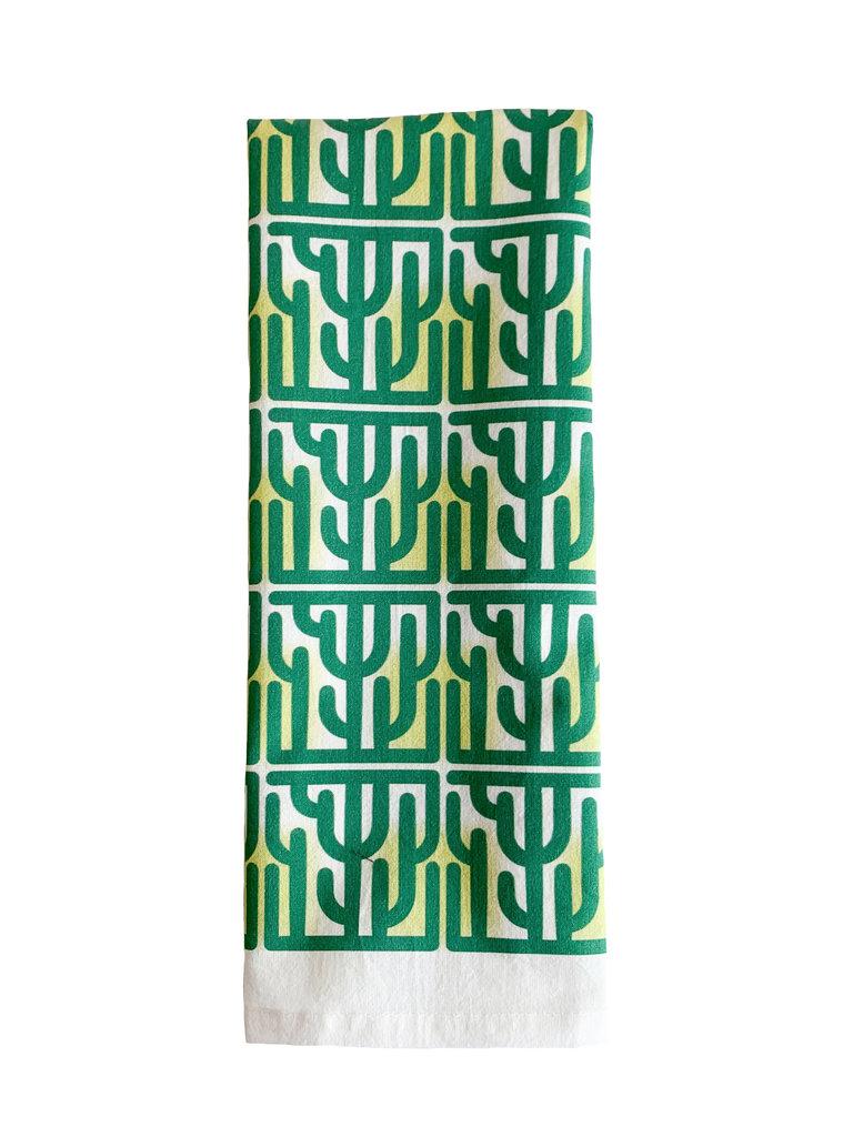 Cactus Breeze Bar Towel