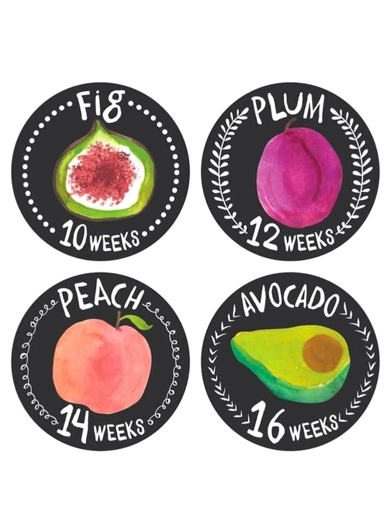 Growing Garden Pregnancy Stickers