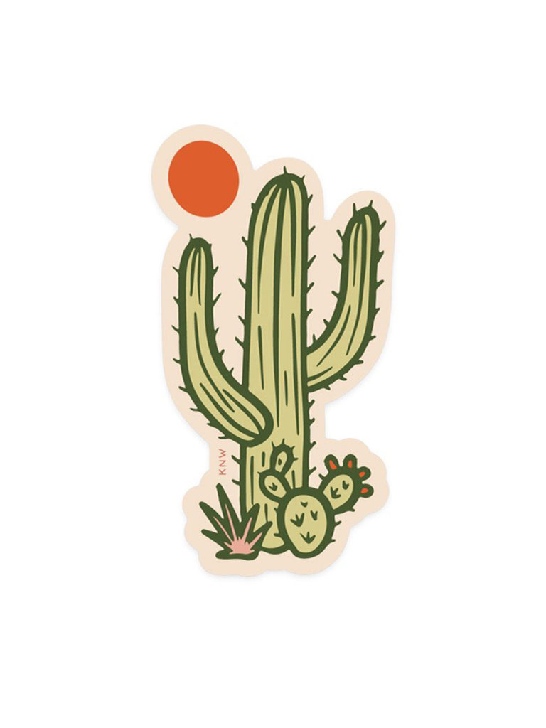 Sunny Saguaro Sticker