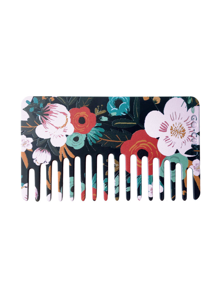 Midnight Floral Go-Comb