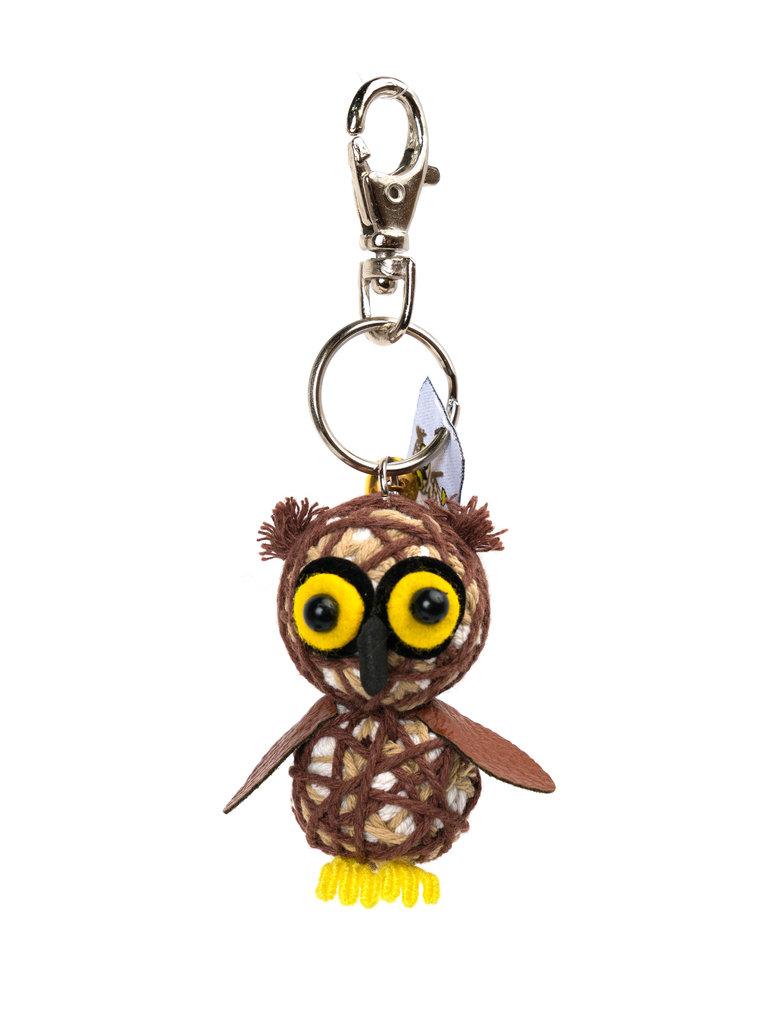 Barney The Owl String Doll