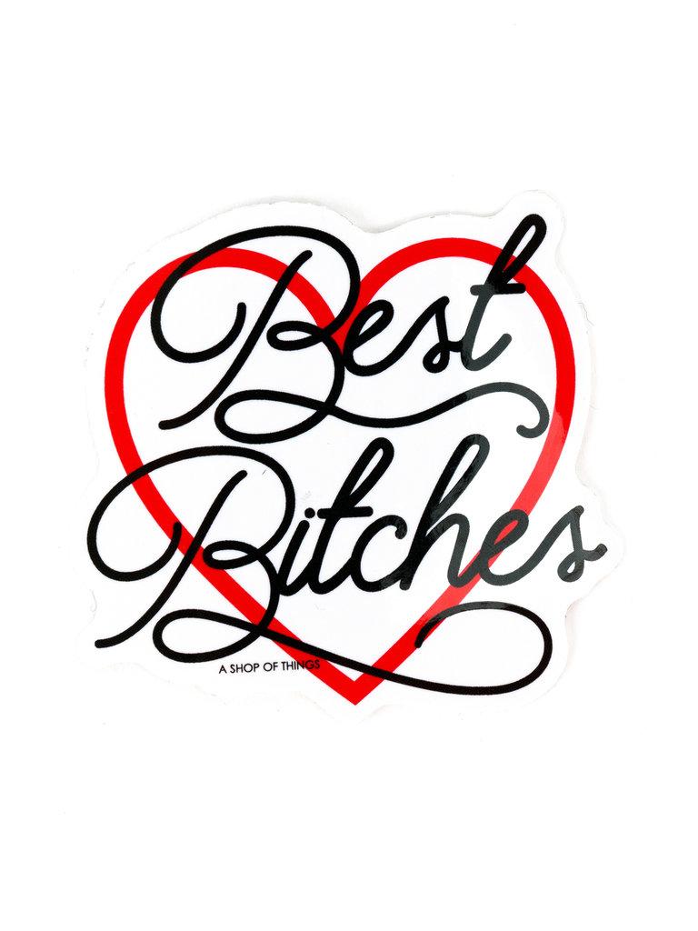 Best Bitches BFF Sticker
