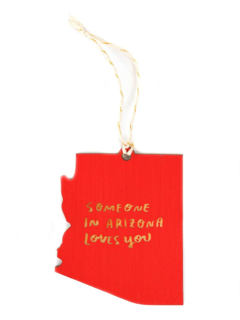 Someone In AZ Loves You Ornament
