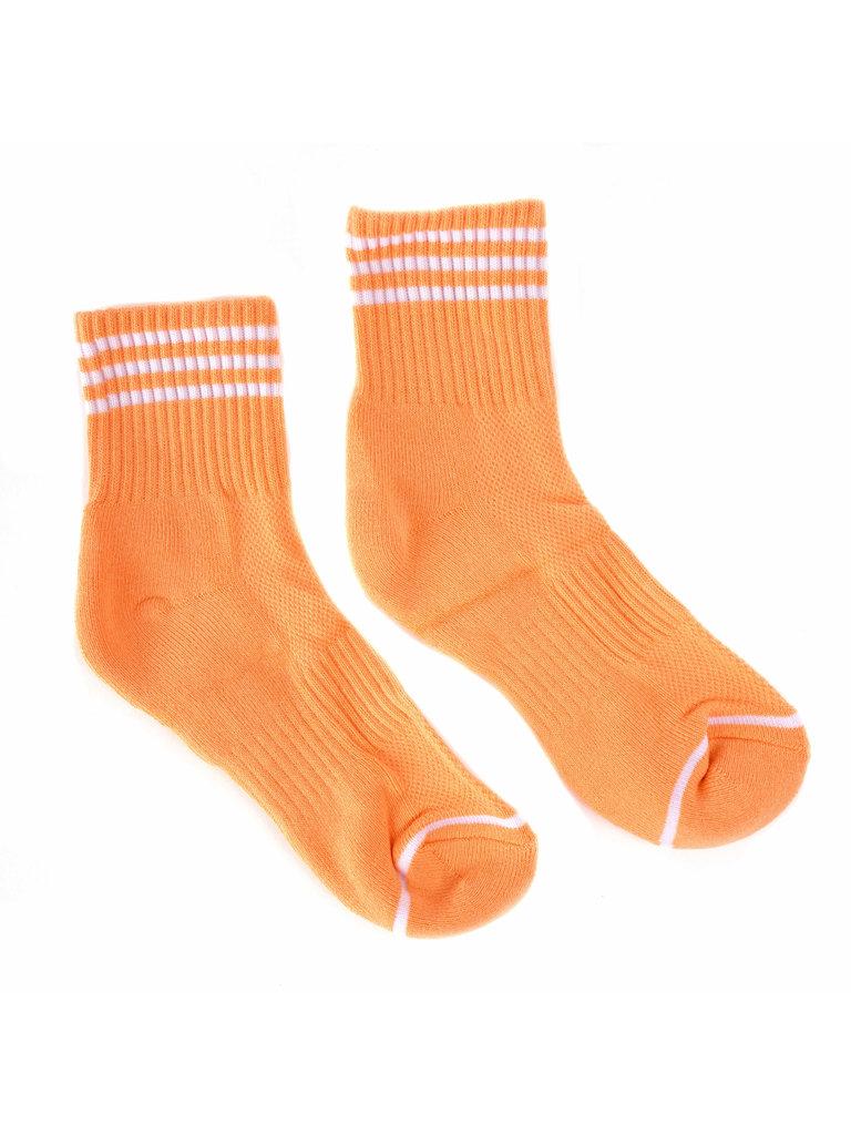 Girlfriend Socks, Grapefruit