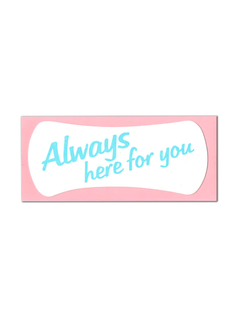 Always Here Pad Card