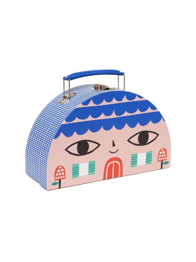 Bird & House Suitcase