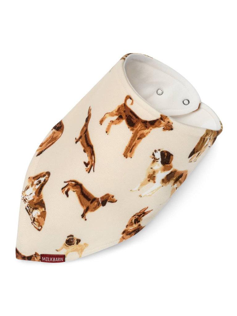 Natural Dog Kerchief Bib