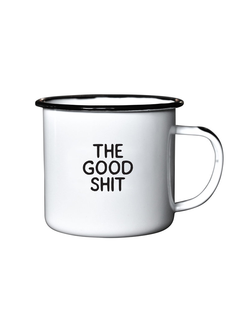 Enamel Mug, The Good Sh*t