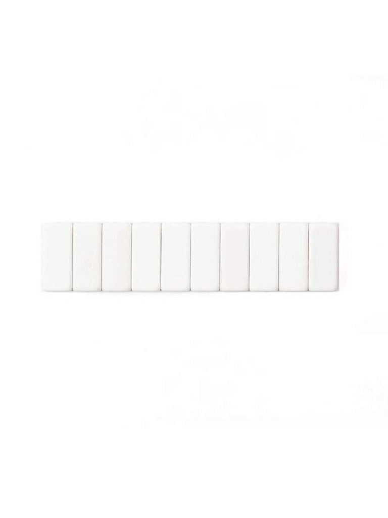 Replacement Erasers Set, White